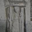 An effigy of St Francis