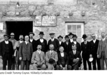 Outside the Moycullen Co-Op c.1918