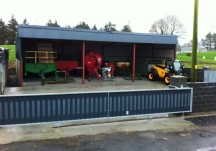 In pictures: Shed helps to extend machinery life