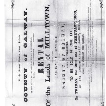 To Be Sold In One Lot, On Friday, the 20th day of February, 1863