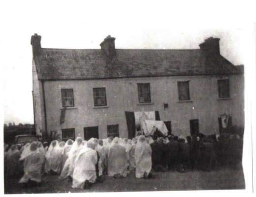 Procession Day in Milltown   Courtesy of B Flannery