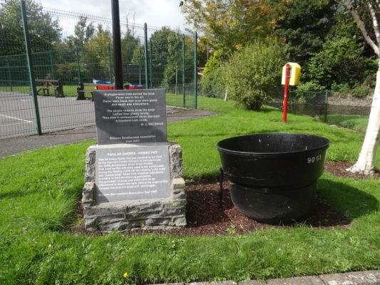 Famine Pot | Photo by Pauline Connolly