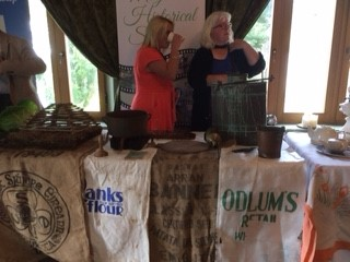 Hazel and Mary from Moycullen Historical Society | Deirdre McDonnell