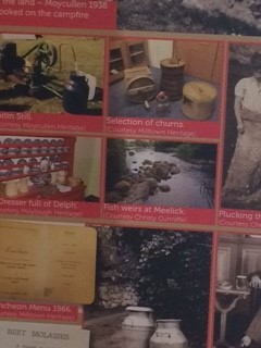 Milltown Heritage featured their selection of churns and luncheon menu on the Gastronomy banner | Deirdre McDonnell
