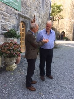 Discussing the castle | Deirdre McDonnell
