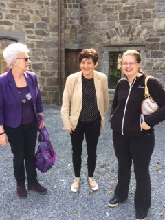 Waiting for the tour of the castle | Deirdre McDonnell