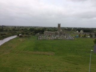View of the Abbey from the castle | Deirdre McDonnell