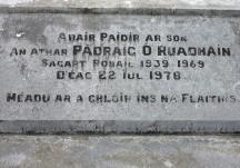 Fr Patrick Ruane, Garbally