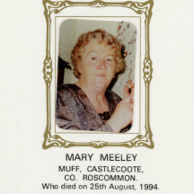 Maureen Meeley (Costello), Esker & Castlecoote