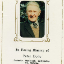 Peter Dolly, Garbally.