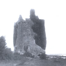 Clondagoff Castle - Burke | Courtesy Patrick Melvin & Éamonn de Búrca