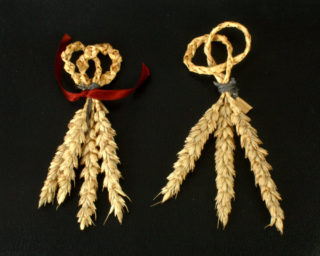 My attempts at creating a couple of Harvest Knots.