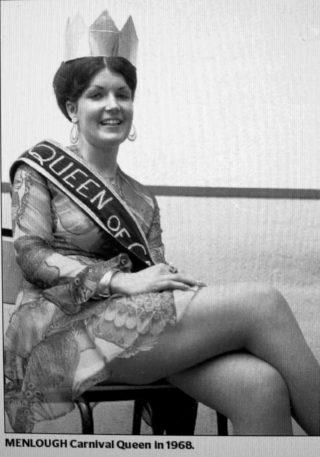 Shirley Lane, Abbeyknockmoy, Queen of The Carnival 1968 | © Tuam Herald