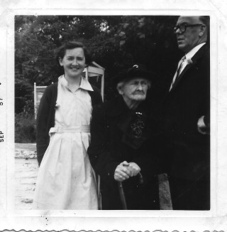 Nollaig, Rose-Ann and Thomas Mitchell September 1957 | Courtesy of Justin Mitchell
