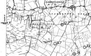 Copy of RMP map of Galway (Sheet 73) showing Ballinlough | Ordnance Survey Ireland