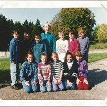 Woodlawn NS 6th Class, 1987 | Des Doherty