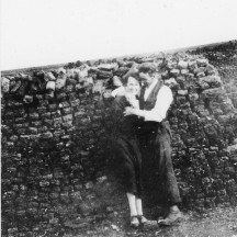 Couple by reek of turf, 1926 | Patricia Greber