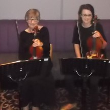 Musicians at Book Launch | Gerry Stronge