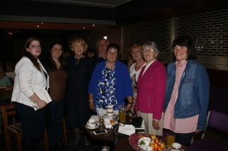 Mrs Sabina Higgins meeting with guests at Wards, Ballyfa | Gerry Stronge