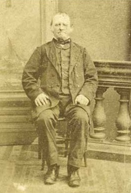 Stephen Grant, gatekeeper at Woodlawn    David Grant