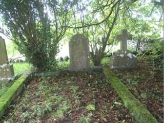 Stephen Grant's grave, Kilconnell 2008   David Grant