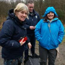 Marie Mannion, Heritage Officer & Elaine O' Riordan Biodiversity Officer Galway Co. Co.