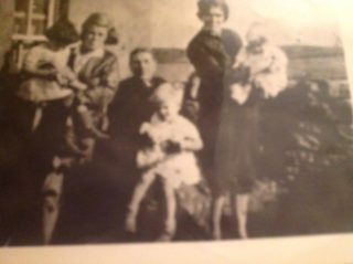 Picture including Dilly (Bridget Hawkins), and their grandmother Dunne (nee O'Brien) | Courtesy of Gabrielle Leslie