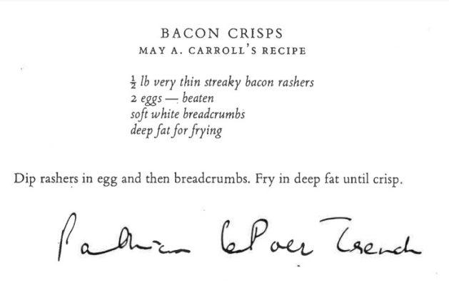 Bacon Crisps Recipe | Courtesy of Justin Dillon