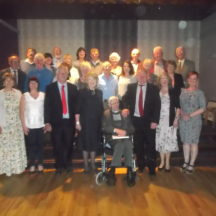 Woodlawn Heritage Group Members present on night with Sabina Higgins