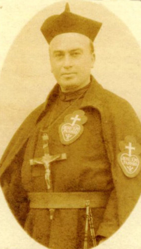 Fr Eugene Nevin CP, 1st Rector of The Graan Monastery, Enniskillen, founded in 1909   | Photo courtesy The Graan Monastery