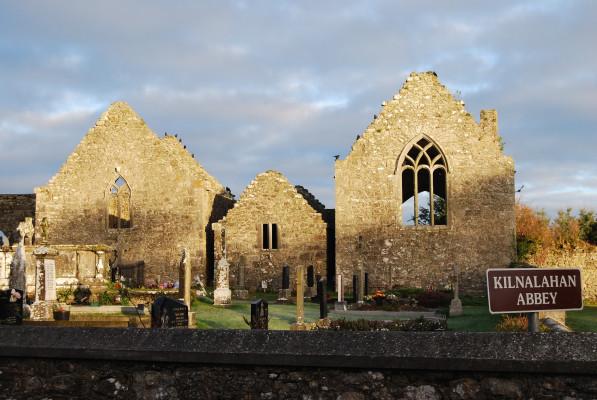 Kilnalahan Abbey, at Abbey, Loughrea, Co Galway
