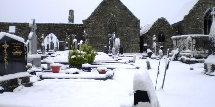 Winter Scenes in Abbey - January 2015