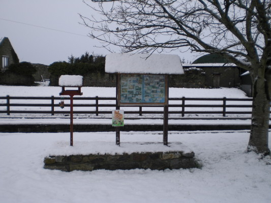 Village Green in the snow - January 2015