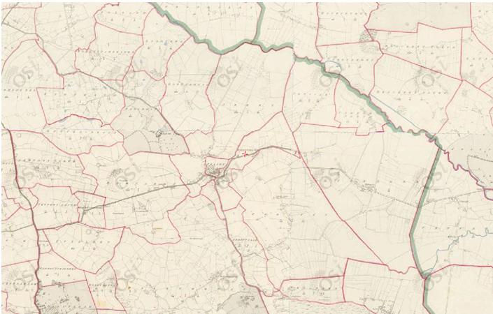 Ordnance Map of Garrynaglogh