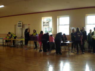 Registering for Abbey 10km