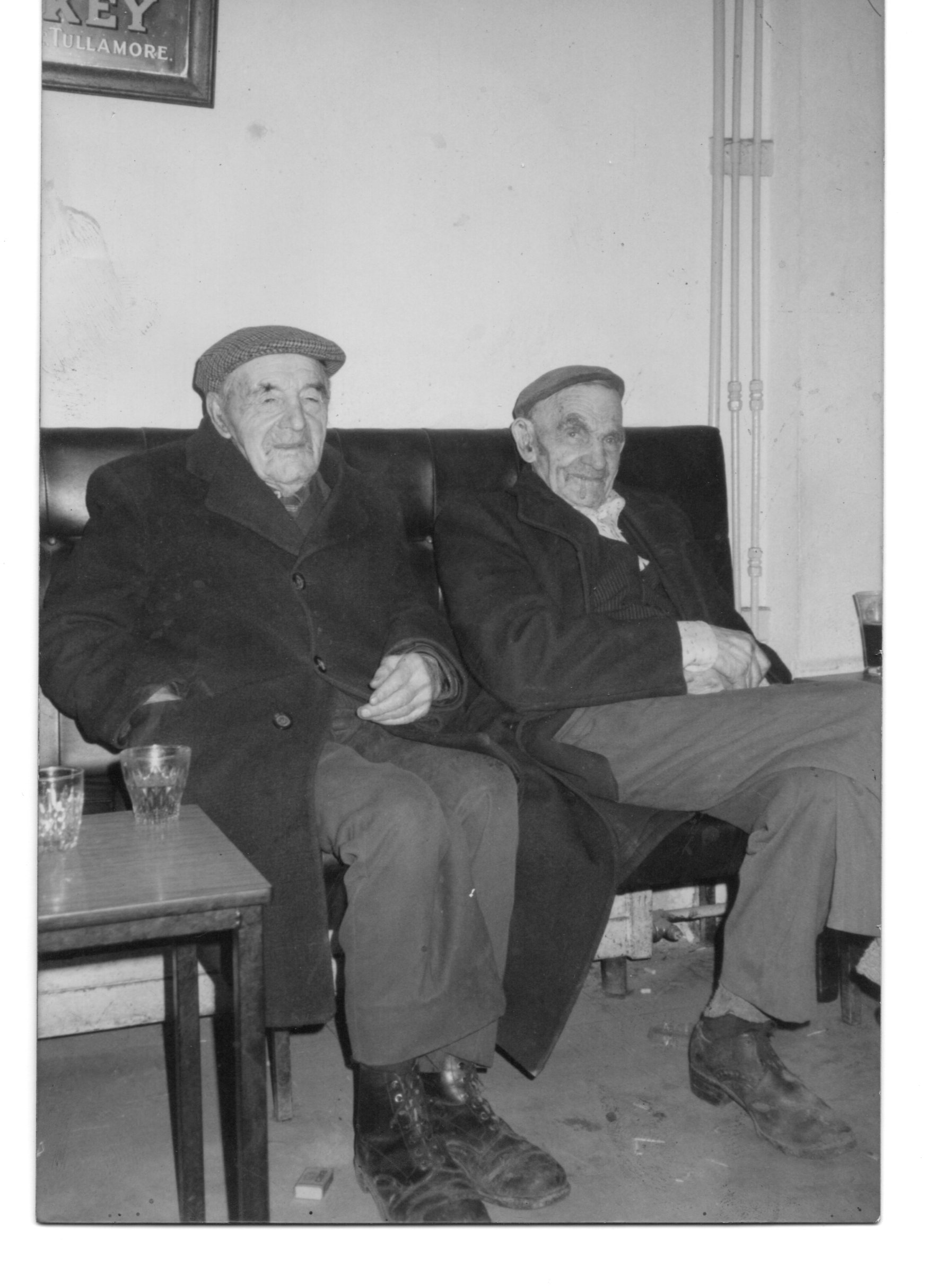 Two happy and contented men Francis Muldoon and Brown Fahy