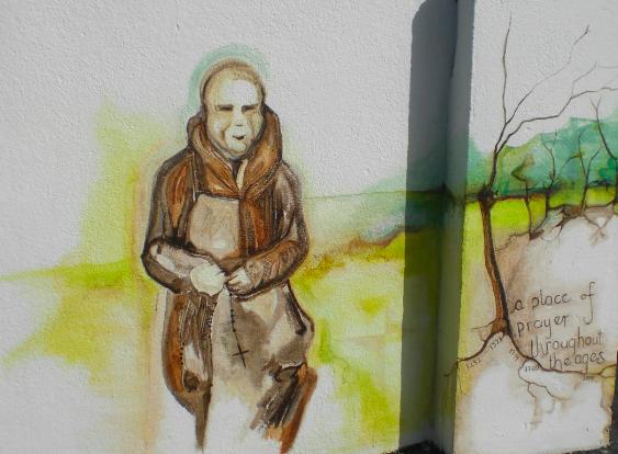 Franciscan Monk at Prayer