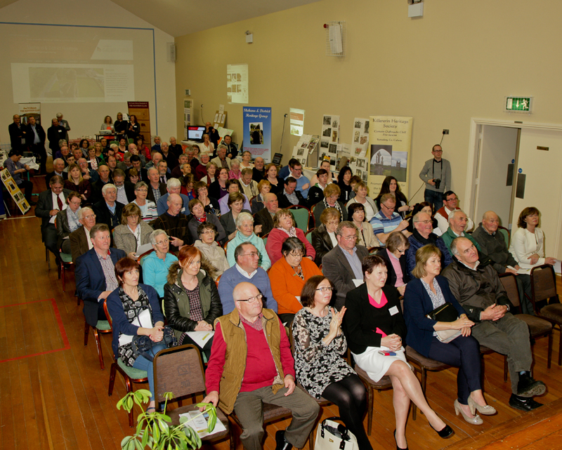 Attendance at the Official Launch of the iCAN project in Moylough