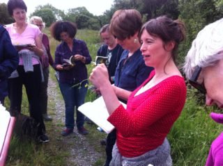 Learning about flora of Portumna with Caroline Lalor | Noreen Lyons