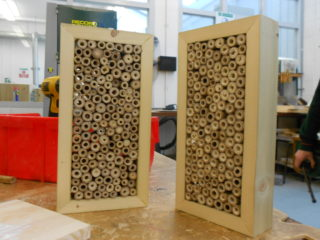 Nesting boxes for bees | Aine Clarke