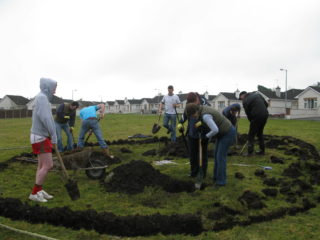 Tree planting in Ballygar   Janice Fuller