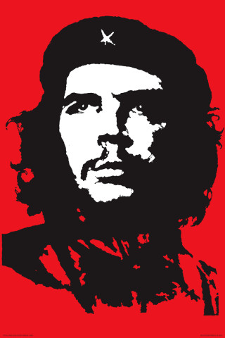 Che Guevara portrait, 1968 |  Jim Fitzpatrick - jimfitzpatrick.com, CC BY NC-ND