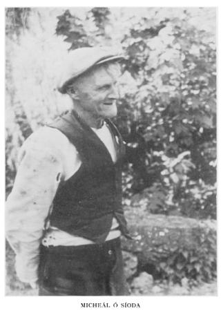 Micheal Ó Síoda- Seanachaí | Claregalway Historical Society - CC BY-NC-ND
