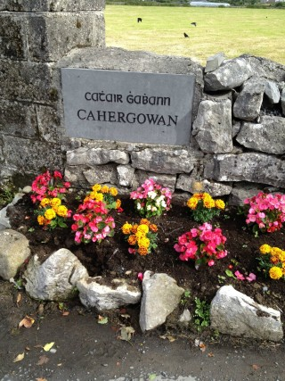 Cahergowan placename stones   claregalway.info CC BY-NC-ND