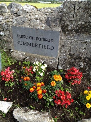 Summerfield placename stone   claregalway.info
