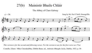 Mainister Bhaile Chláir Verse 2