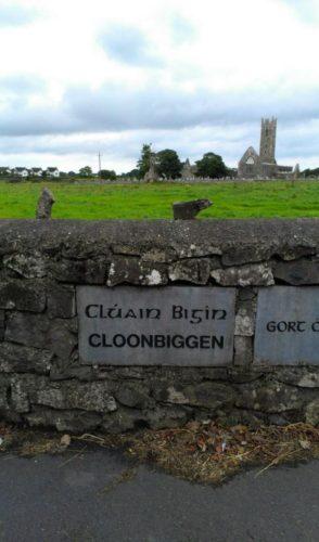 Cloonbiggen Name Stone | Josette Farrell, claregalway.info