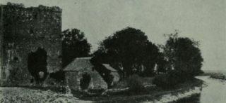 Claregalway Castle c1925