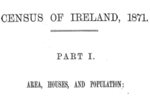 Census of Ireland for the Year 1871