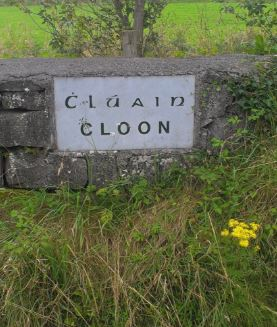 Cloon Name Stone, 1996 | Josette Farrell, Claregalway.info